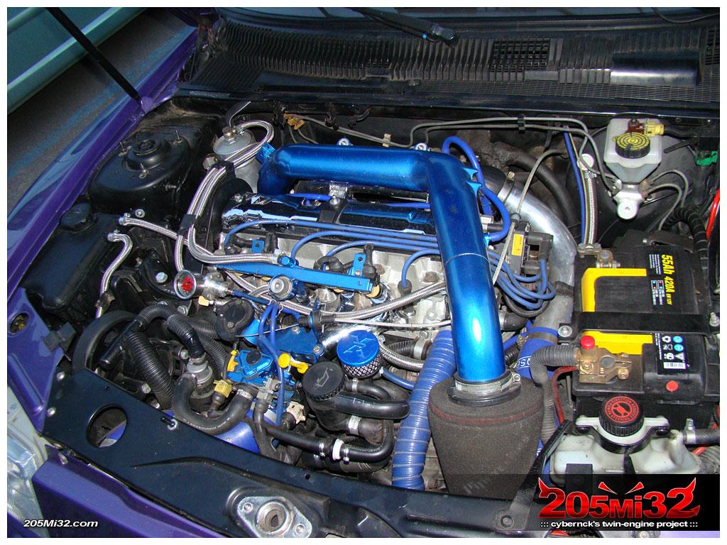 2.0 8v Turbo engine.