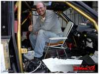 After a bit of cranking, praying and yet more cranking, engine started which made us really happy!!! :-D