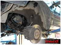 ...and to be fitted with new SKF top mount bearings and BakerBM.com Grp.N top mount rubbers.
