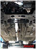 ...front engine's exhaust system...