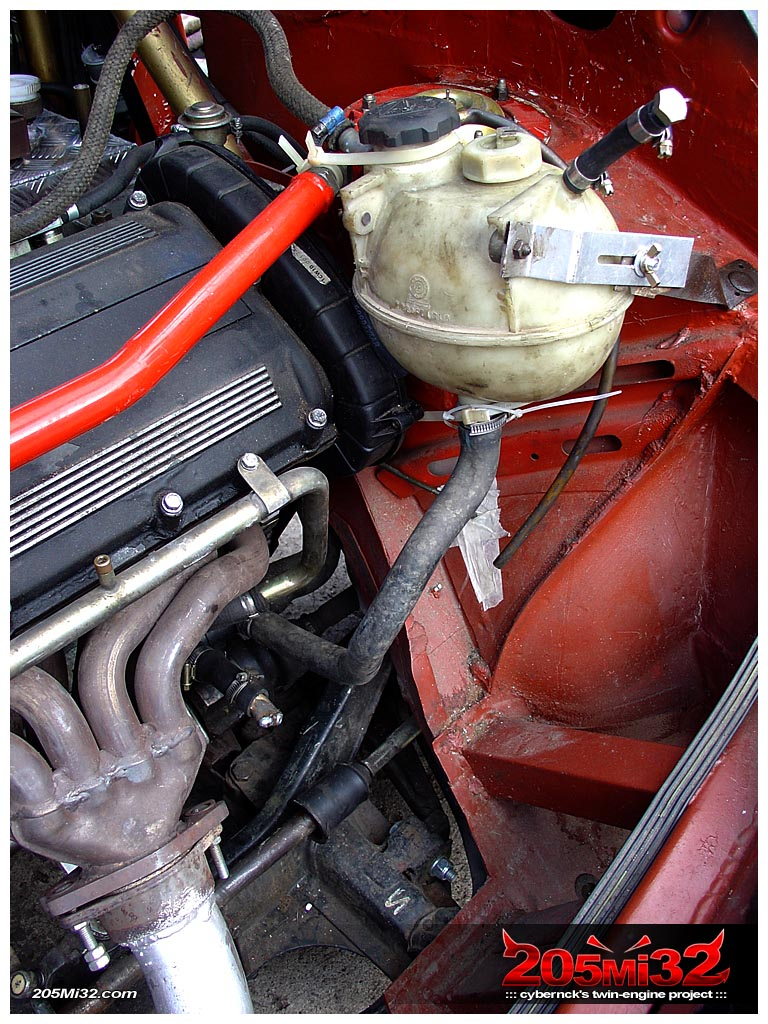 ...as the rear engine cooling wasn't doing it's job properly without it.
