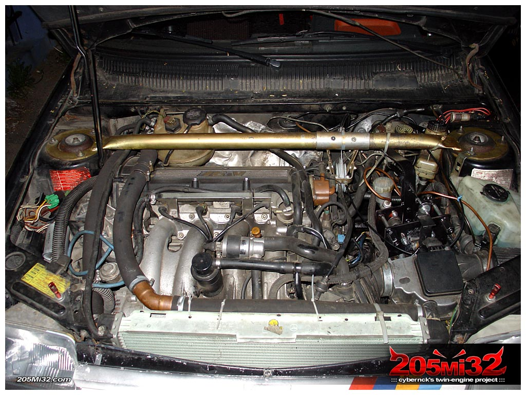 The engine bay looks a tiny bit tidier now and incorporates the windscreen washer bottle as well.