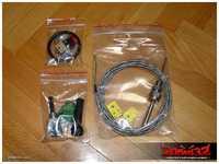 Optional EGT (Exhaust Gas Temp) kit, IAT (Inlet Air Temp) aka MAT (Manifold Air Temp) sensor and misc bits (fuses, pins etc).