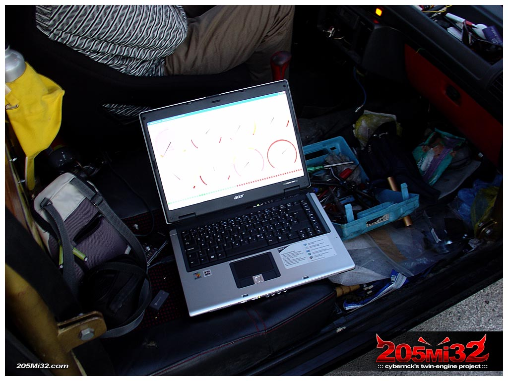After a lot of tweaking of cranking settings and fuel sites, we got it running but couldn't get the engine to rev above idle. It turned out that in all the rush we'd fogotten a rag in the compressor inlet (doh!).