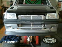 RS500 intercooler