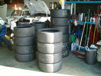 BTCC slicks for my new wheels