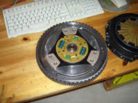 Flywheel/cluch once again