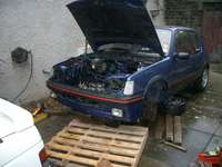 Highlight for Album: Engine removal and bay cleaning