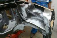 ...and left chassis frame ready for next step