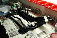 21mm ARB and gear linkage relay lever attached, bolts cleaned and zinc coated