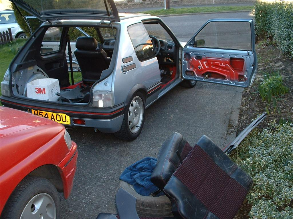 And here she is - my new 205 GTI
