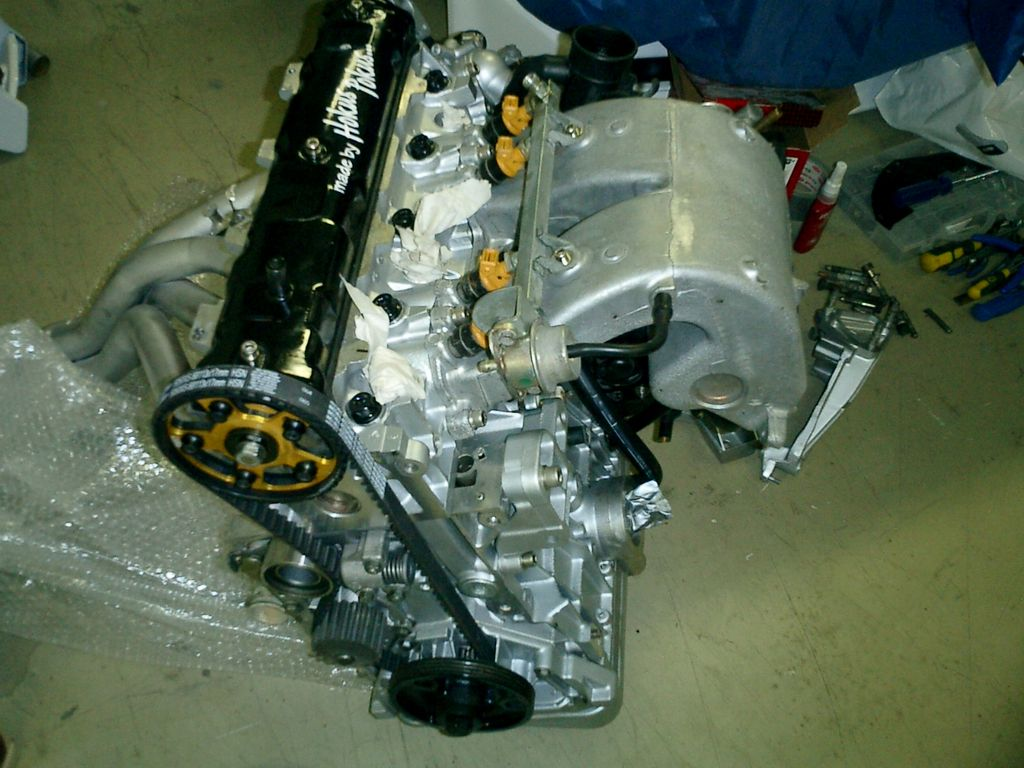 Engine ready to fit, complete re build