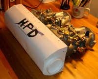 Cardboard model of carbon air box