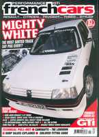 Cover car on November issue of PGTI/French cars