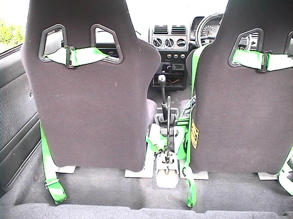 Sparco sprint seats..Soo comfy:)