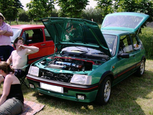 my 205 at pickering show 3