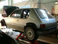 Rear of car