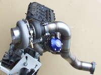Turbo and manifold on engine