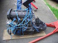 Highlight for Album: Mi16 Engine Removal
