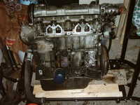 slimy greay leaky engine removed with no hoist i might add!