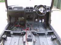the interior is looking better now its back in .