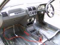 centre console is away having a plate put in for the switches etc.